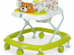 Ходунки детские на колёсах Bambi музыкальный (Салатовый) (M 3656-2(Light-Green))