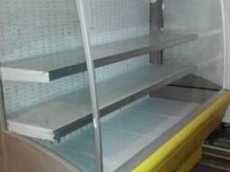 Холодильная пристенная горка б\у, регал бу, стеллаж холодиль