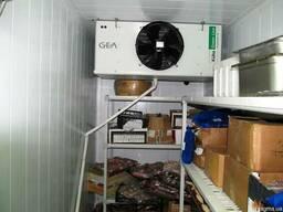 Холодильное оборудование для камер охлаждения с установкой.
