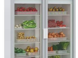 Холодильный шкаф Polair DM110-S двухдверный со стеклянными дверями