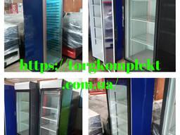 Холодильный шкаф - витрина Интер б/у, Холодильные шкафы б у