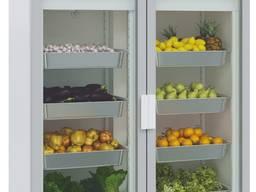 Холодильный шкаф-витрина Polair DM114-S двухдверный стеклянные двери