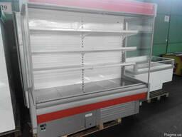 Холодильный стеллаж бу, Холодильная горка регал б/у купить,