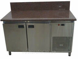 Холодильный стол с гранитной столешницей и задним бортом Tehma 98976