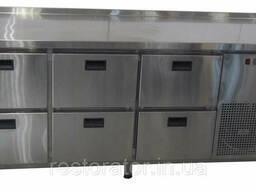 Холодильный стол узкий Tehma 11933