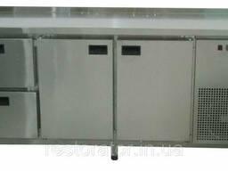 Холодильный стол узкий Tehma 14054