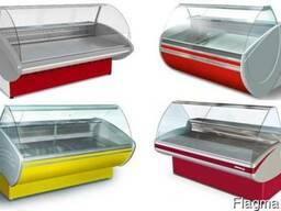 Холодильные и морозильные витрины. Доставка оборудования по