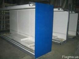 Холодильные регалы Linde Monaxis регал регалы горки
