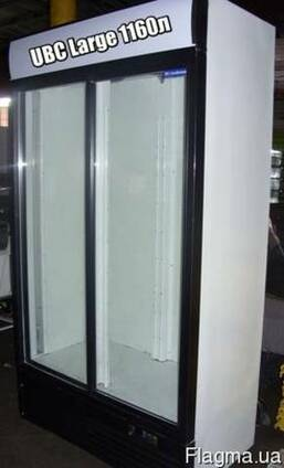 Холодильные шкафы витрины (б/у)
