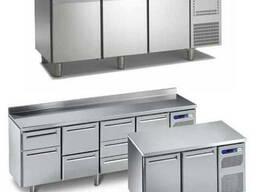 Холодильные столы. Модели для пиццы, морозильные 1, 2, 3 двери