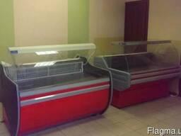 Холодильные витрины. Орбита для магазинов и торговли. Новые.