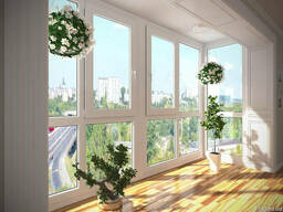 Холодные/Тёплые Окна на Балкон