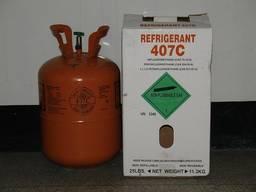 Холодоагент (фреон, хладон) R-407 с (11.3кг)