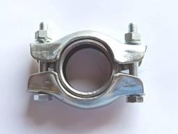 Хомут глушителя ВАЗ 2108, 2109, 21099 с кольцом и болтами в сборе