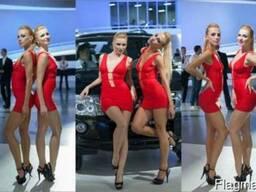 Хостес модели промоутеры на выставки