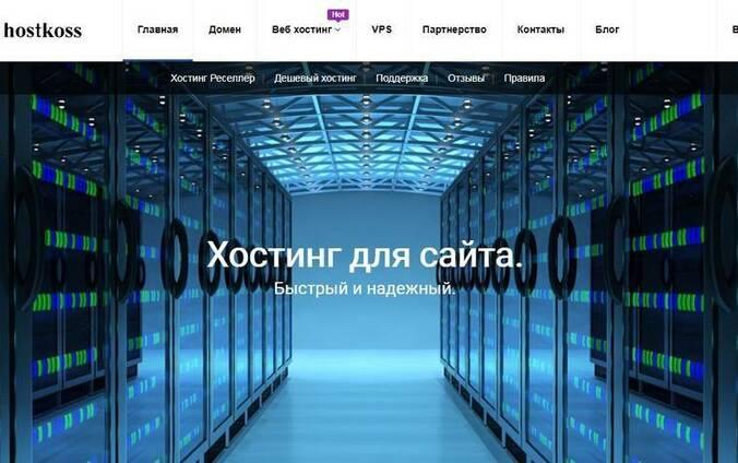 Хостинг hostkoss. com тариф - MINI-2