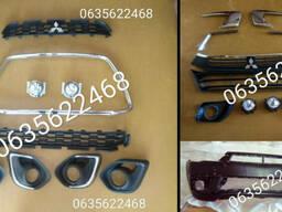 Хром накладка решетка радиатора Mitsubishi ASX Мицубиси АСХ