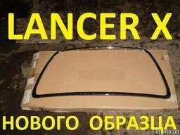 Хром. окантовка Lancer X