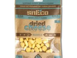 Хрустящий сушеный сыр snEco «Моцарелла», 40г.