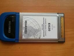 Huawei E620 3G pcmcia модем мобильный интернет GSM, GPRS,