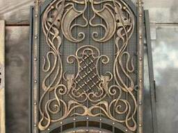Художественная ковка калиток, ворот
