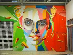 Художественная роспись стен, граффити на заказ в Крыму