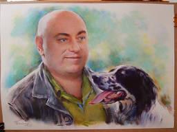 Художественный портрет на заказ - фото 6