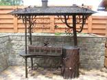 Художня ковка: ворота, мангали, решітки, перила - фото 1