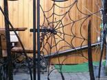 Художня ковка: ворота, мангали, решітки, перила - фото 8