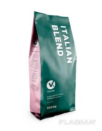 Італійська кава Italian Blend. Обсмаження темне.