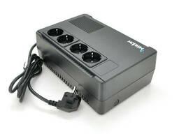 ИБП Merlion Terra 400 (240W) LED, 162-290VAC, AVR 1st, 4 Schuko, 1x12V4. 5Ah, plastik. ..