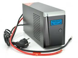 ИБП с правильной синусоидой Ritar RTSW-500 LCD (300Вт), 12В, под внешний АКБ, Q4. ..