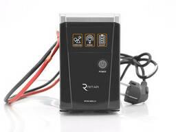 ИБП с правильной синусоидой Ritar RTSW-600 LED (360Вт), 12В , под внешний АКБ, Q4. ..