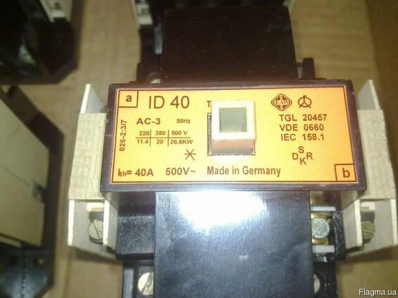 ID2 ; ID3, ID4, ID5, ID6 контактор