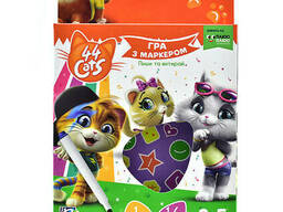 "Игра с маркером Vladi Toys ""44 Cats"" Vladi Toys (укр) 3-5 лет (VT5010-15)"