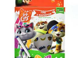 "Игра с маркером Vladi Toys ""44 Cats"" Vladi Toys (укр) 4-6 лет (VT5010-16)"