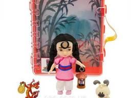 Игровой набор малышка Мулан в чемоданчике, Disney Animators' Collection Mulan Mini Doll. ..