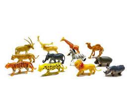 Игровой набор животных Metr+ 12 шт в наборе (2066B)