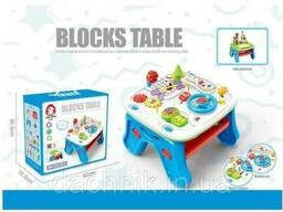 Игровой столик EA 002 (6/2) звук, конструктор, музыкальный телефон, досточка для. ..