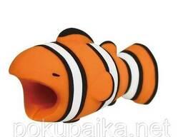 Игрушка Рыбка органайзер силиконовый сувенир для USB. ..