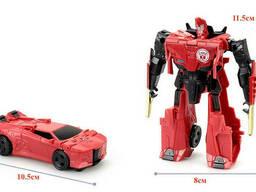 Игрушка Сайдвайп с трансформацией 11. 5 см Роботы под прикрытием SKL14-221778