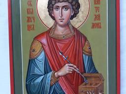 Икона святой великомученик Пантелеймон целитель