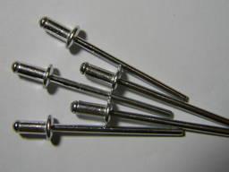 Имеется в продаже заклепка алюминий-сталь, размер 3х6.