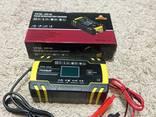 Импульсное автоматическое автомобильное зарядное устройство Foxsur 12V/8A 24V/4A для АКБ - фото 11