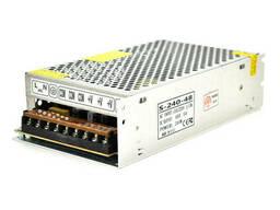 Импульсный блок питания 48В 5А (240Вт) перфорированный (204*116*55) 0. 7 кг (200*110*50)