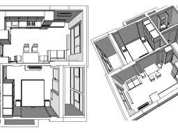 Индивидуальное обучение созданию дизайн-проекта в ArchiCAD.