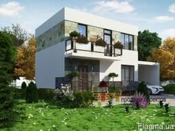 Индивидуальный проект дома от 20 грн/м2