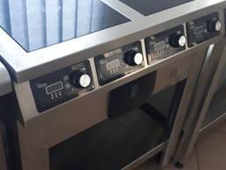 Индукционная плита 4х-конфорочная для кафе и столовой