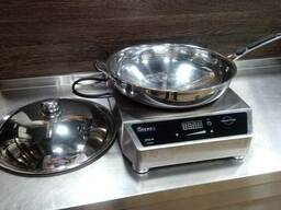 Индукционная плита для wok с сковородкой
