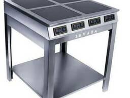 Индукционная плита Skvara Sif 4.12 (4х3кВт) профессиональная